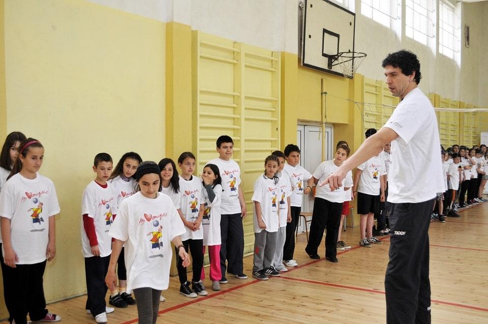 Спорт за деца на 4 години